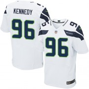 NFL Cortez Kennedy Seattle Seahawks Elite Road Nike Jersey - White