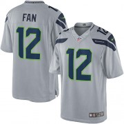 NFL 12th Fan Seattle Seahawks Limited Alternate Nike Jersey - Grey