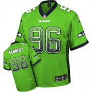 NFL Cortez Kennedy Seattle Seahawks Limited Drift Fashion Nike Jersey - Green