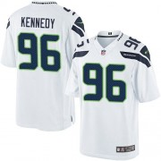 NFL Cortez Kennedy Seattle Seahawks Limited Road Nike Jersey - White