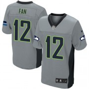 NFL 12th Fan Seattle Seahawks Limited Nike Jersey - Grey Shadow