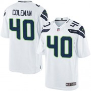 NFL Derrick Coleman Seattle Seahawks Limited Road Nike Jersey - White