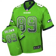 NFL Doug Baldwin Seattle Seahawks Elite Drift Fashion Nike Jersey - Green