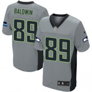 NFL Doug Baldwin Seattle Seahawks Elite Nike Jersey - Grey Shadow