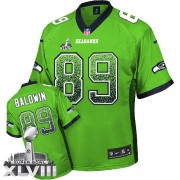 NFL Doug Baldwin Seattle Seahawks Limited Drift Fashion Super Bowl XLVIII Nike Jersey - Green