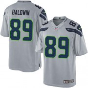 NFL Doug Baldwin Seattle Seahawks Limited Alternate Nike Jersey - Grey