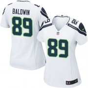 NFL Doug Baldwin Seattle Seahawks Women's Game Road Nike Jersey - White