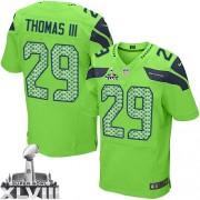 NFL Earl Thomas III Seattle Seahawks Elite Alternate Super Bowl XLVIII Nike Jersey - Green
