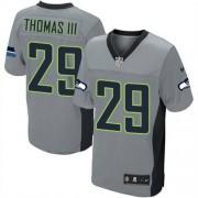 NFL Earl Thomas III Seattle Seahawks Elite Nike Jersey - Grey Shadow