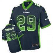 NFL Earl Thomas III Seattle Seahawks Elite Drift Fashion Nike Jersey - Navy Blue