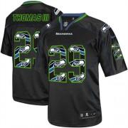 NFL Earl Thomas III Seattle Seahawks Elite Nike Jersey - New Lights Out Black