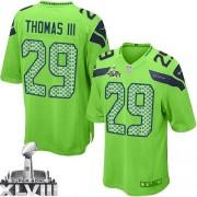 NFL Earl Thomas III Seattle Seahawks Game Alternate Super Bowl XLVIII Nike Jersey - Green