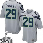 NFL Earl Thomas III Seattle Seahawks Game Alternate Super Bowl XLVIII Nike Jersey - Grey