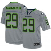 NFL Earl Thomas III Seattle Seahawks Game Nike Jersey - Lights Out Grey