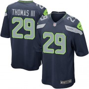 NFL Earl Thomas III Seattle Seahawks Game Team Color Home Nike Jersey - Navy Blue
