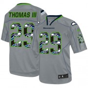 NFL Earl Thomas III Seattle Seahawks Game New Nike Jersey - Lights Out Grey