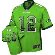 NFL 12th Fan Seattle Seahawks Elite Drift Fashion Nike Jersey - Green