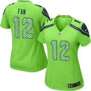 NFL 12th Fan Seattle Seahawks Women's Elite Alternate Nike Jersey - Green