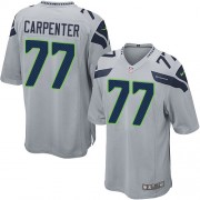 NFL James Carpenter Seattle Seahawks Game Alternate Nike Jersey - Grey