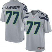 NFL James Carpenter Seattle Seahawks Limited Alternate Nike Jersey - Grey