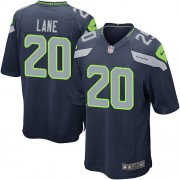 NFL Jeremy Lane Seattle Seahawks Game Team Color Home Nike Jersey - Navy Blue