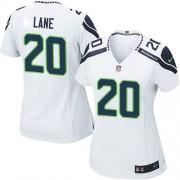 NFL Jeremy Lane Seattle Seahawks Women's Game Road Nike Jersey - White