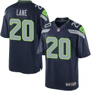NFL Jeremy Lane Seattle Seahawks Youth Limited Team Color Home Nike Jersey - Navy Blue