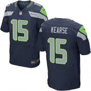 NFL Jermaine Kearse Seattle Seahawks Elite Team Color Home Nike Jersey - Navy Blue