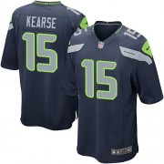 NFL Jermaine Kearse Seattle Seahawks Game Team Color Home Nike Jersey - Navy Blue