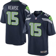 NFL Jermaine Kearse Seattle Seahawks Limited Team Color Home Nike Jersey - Navy Blue