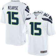 NFL Jermaine Kearse Seattle Seahawks Limited Road Nike Jersey - White