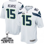 NFL Jermaine Kearse Seattle Seahawks Youth Elite Road Super Bowl XLVIII Nike Jersey - White