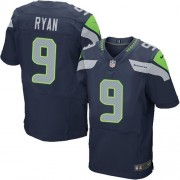 NFL Jon Ryan Seattle Seahawks Elite Team Color Home Nike Jersey - Navy Blue