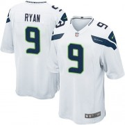 NFL Jon Ryan Seattle Seahawks Game Road Nike Jersey - White